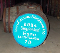 Bere Whisky, Arran Distillery